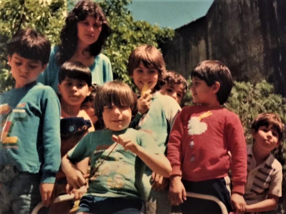 rosario com alunos