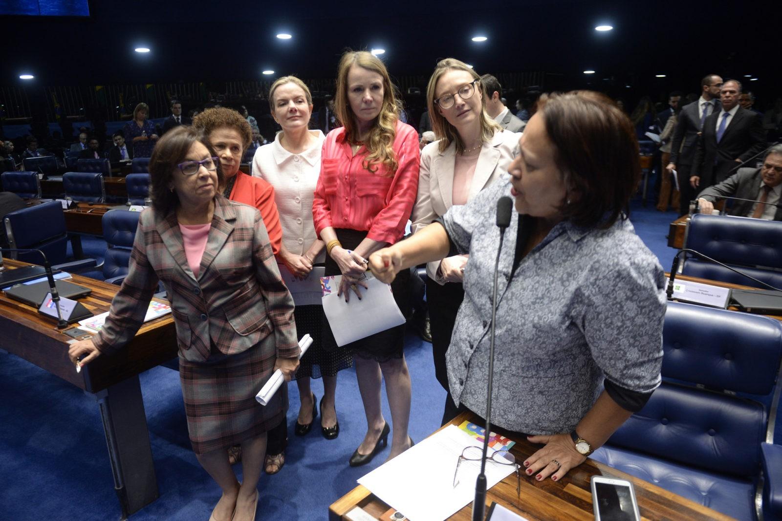 Aprovação PL da Escuta Protegida Senado Foto: Jefferson Rudy/Agência Senado