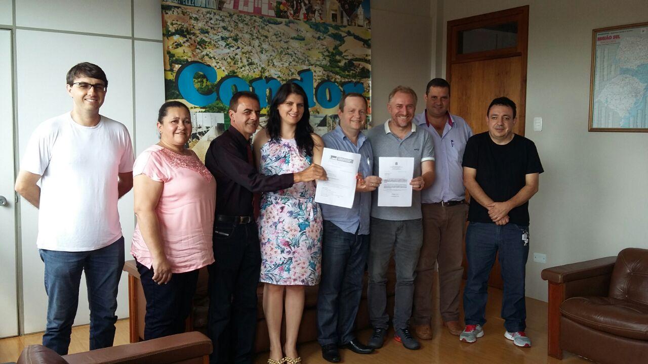 Condor recebe emenda parlamentar. Foto: Divulgação