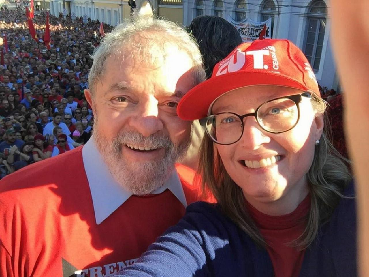 Lula e Rosário em Rio Grande - Defesa do Polo Naval